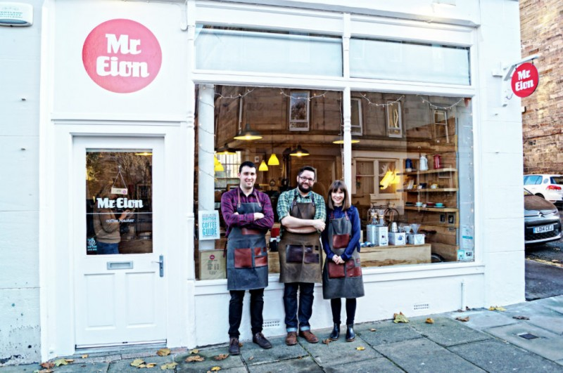 Get your locally roasted coffee beans at Mr Eion!